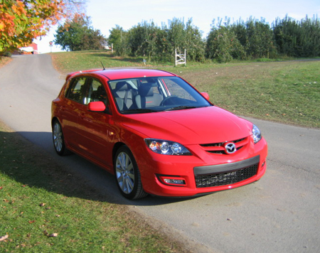 mazdaspeed 3 review the truth about cars. Black Bedroom Furniture Sets. Home Design Ideas