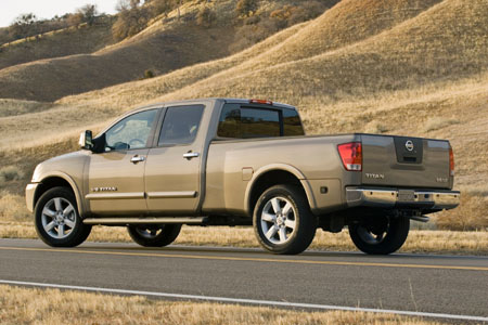 nissan titan review the truth about cars. Black Bedroom Furniture Sets. Home Design Ideas
