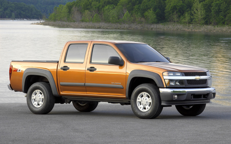 rear-side.jpg & Chevrolet Colorado 4X4 Crew Cab Review