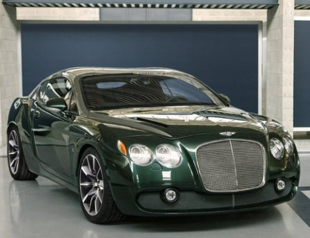 Zagato Get Me One Of These - Show me a bentley car