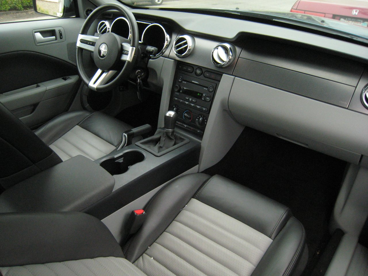 By Contrast, The Interior ... Awesome Design