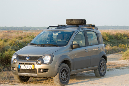 Review 2008 Fiat Panda 4x4 The Truth About Cars