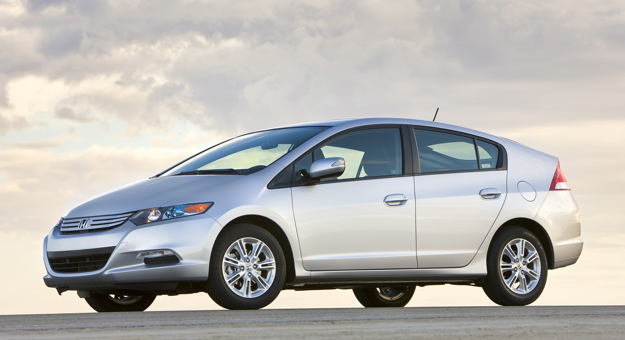 First Official Honda Insight Image