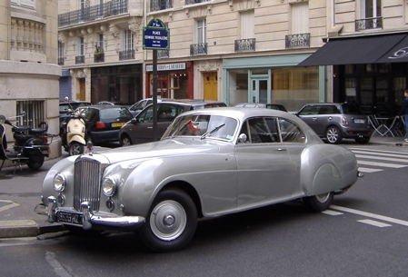 Only Paris is worthy of Bentley. Only Bentley worthy of Paris