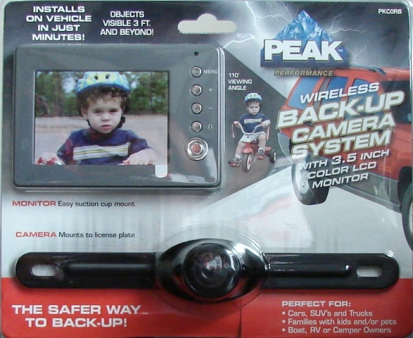 Product Review: Peak Wireless Back-Up Camera System - The Truth ...