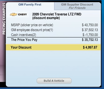 It S Baaaaaack Gm S Employee Discount For Friends And Family