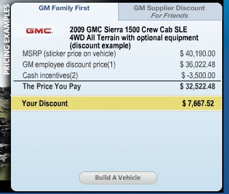 Gm Friends And Family >> It S Baaaaaack Gm S Employee Discount For Friends And Family The