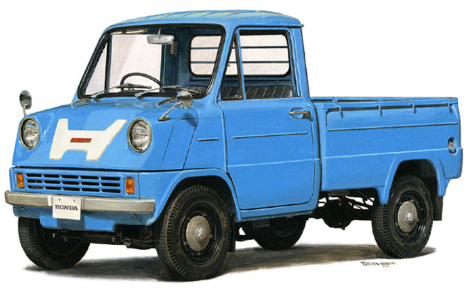 Honda trucks,then and now (courtesy japanesenostalgiccar.com) - The Truth About Cars
