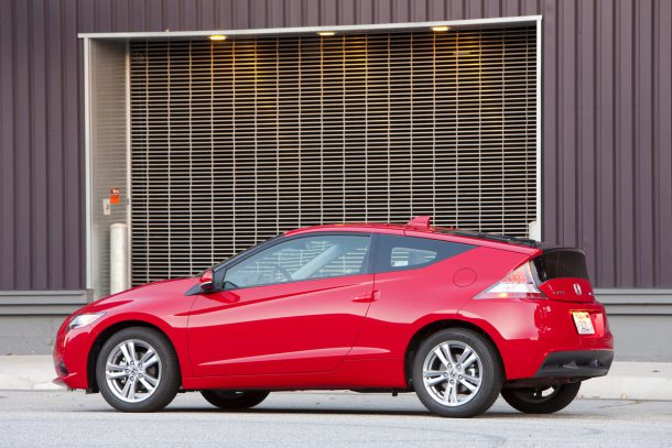2011 Honda CR-Z EX red
