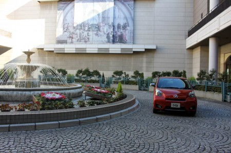 The 2010 Toyota iQ Go. Picture courtesy Bertel Schmitt