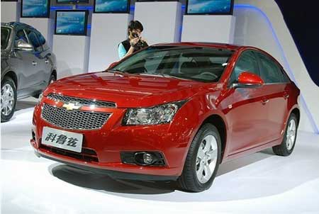 #8 Chevrolet Cruze. Picture courtesy globaltimes.cn