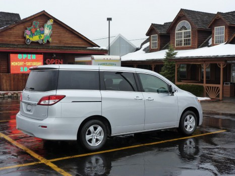 review 2011 nissan quest the truth about cars. Black Bedroom Furniture Sets. Home Design Ideas