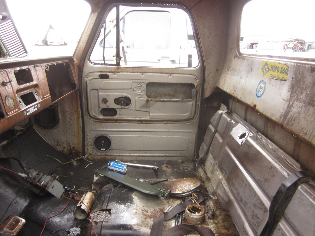 Junkyard find 1966 chevrolet c10 pickup the truth about - Chevy truck interior accessories ...