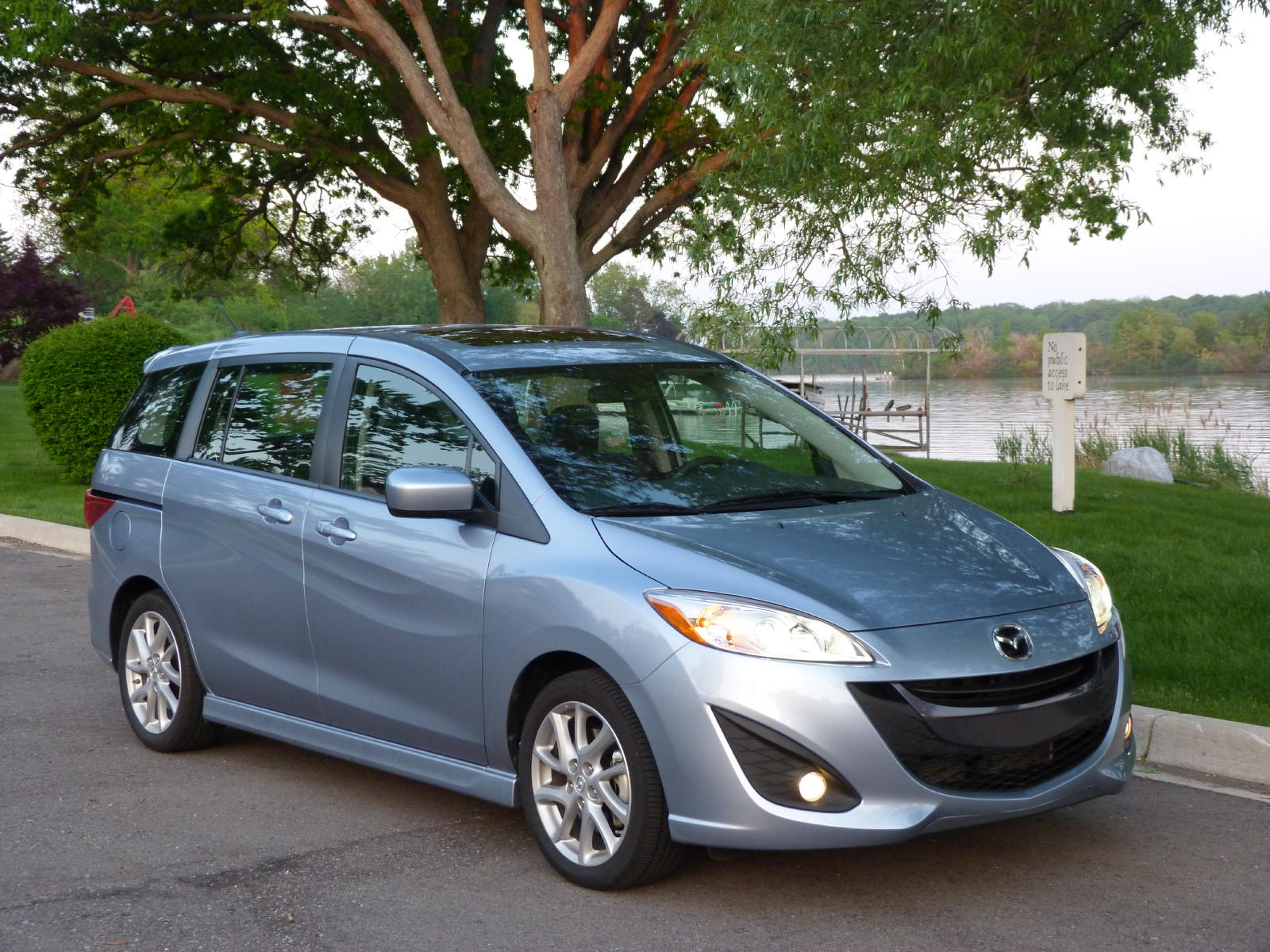 review 2012 mazda5 the truth about cars. Black Bedroom Furniture Sets. Home Design Ideas