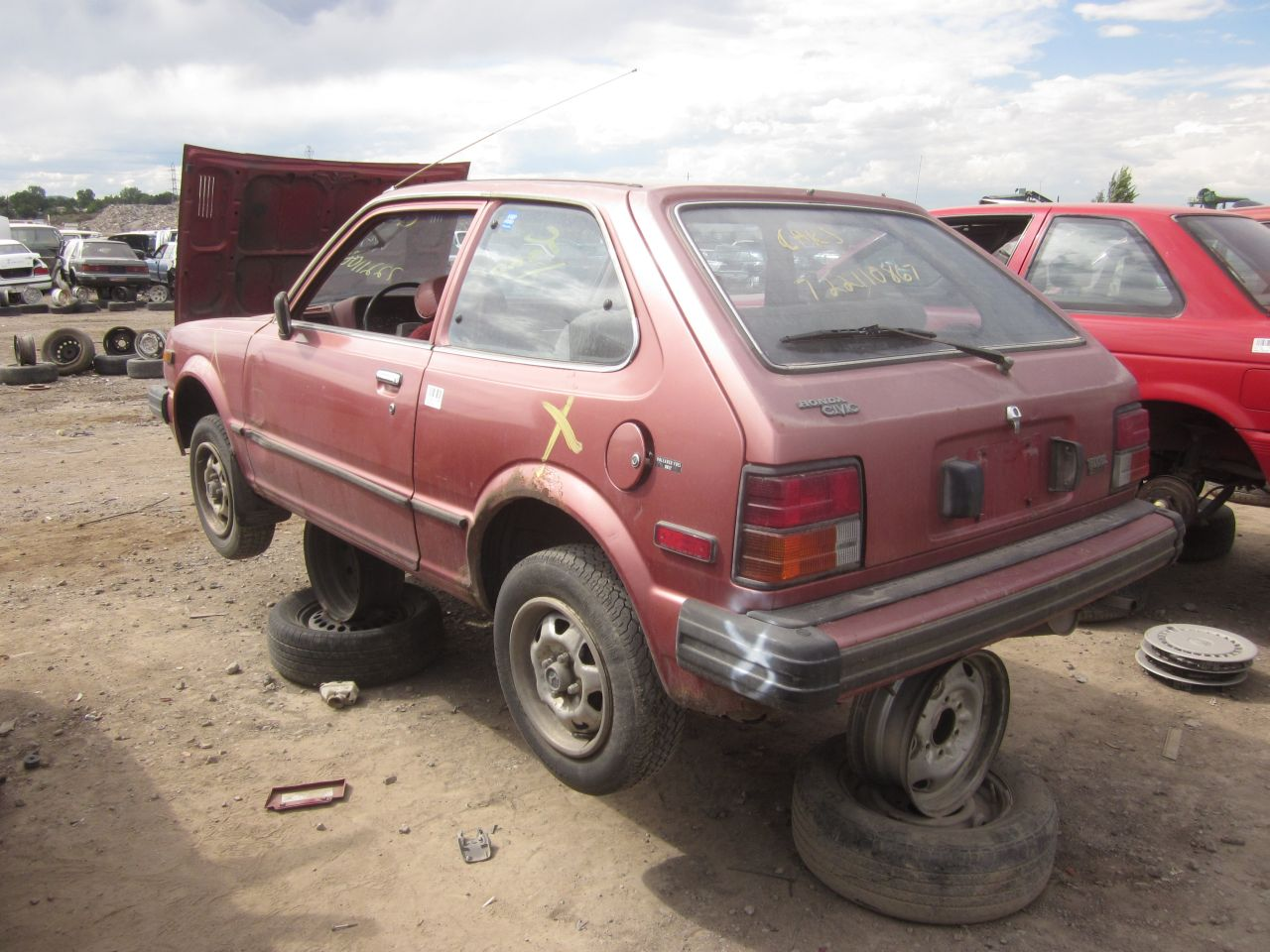 junkyard find 1980 honda civic 1500 gl the truth about cars. Black Bedroom Furniture Sets. Home Design Ideas
