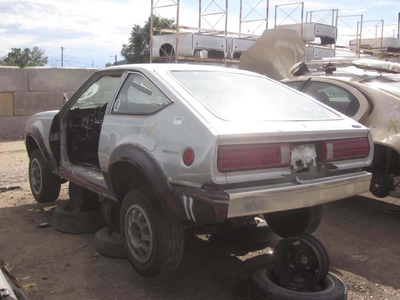 Junkyard Find: Iron Duked 1981 AMC Eagle SX/4