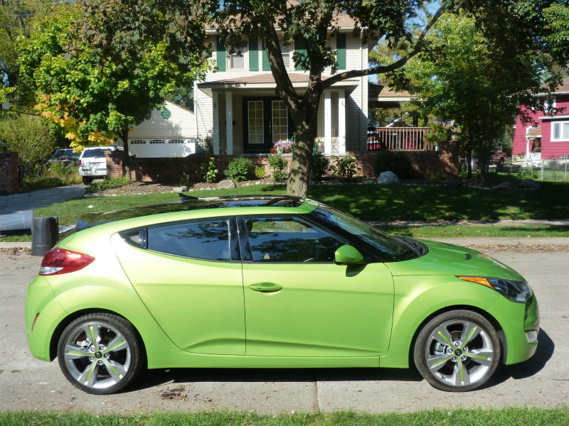 review hyundai veloster take two the truth about cars. Black Bedroom Furniture Sets. Home Design Ideas