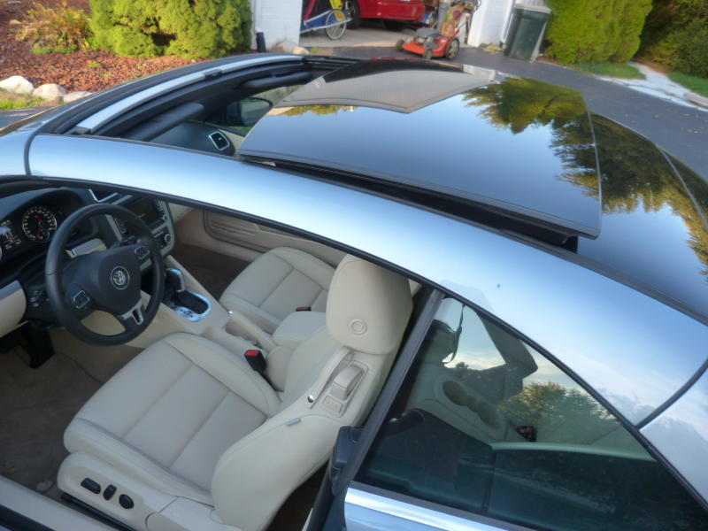Review 2012 Volkswagen Eos The Truth About Cars