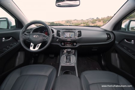 Sportage Interior Wide View