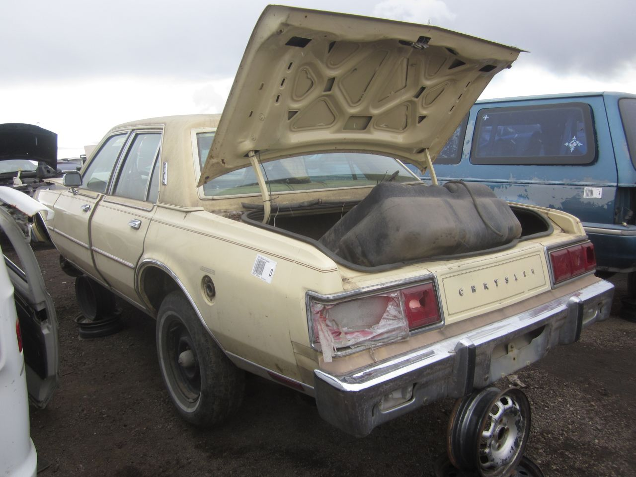 Junkyard Find 1979 Chrysler Lebaron The Truth About Cars 1989 Power Steering Diagram Wiring