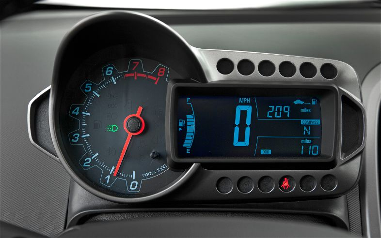 2012-Chevrolet-Sonic-gauge - The Truth About Cars