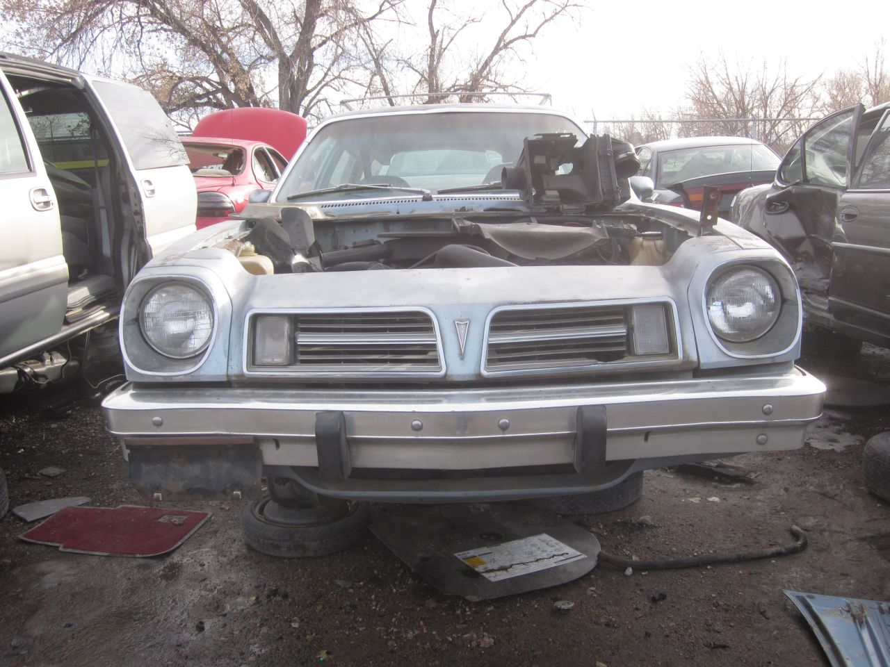 Junkyard Find: 1979 Pontiac Sunbird Safari Station Wagon - The Truth ...
