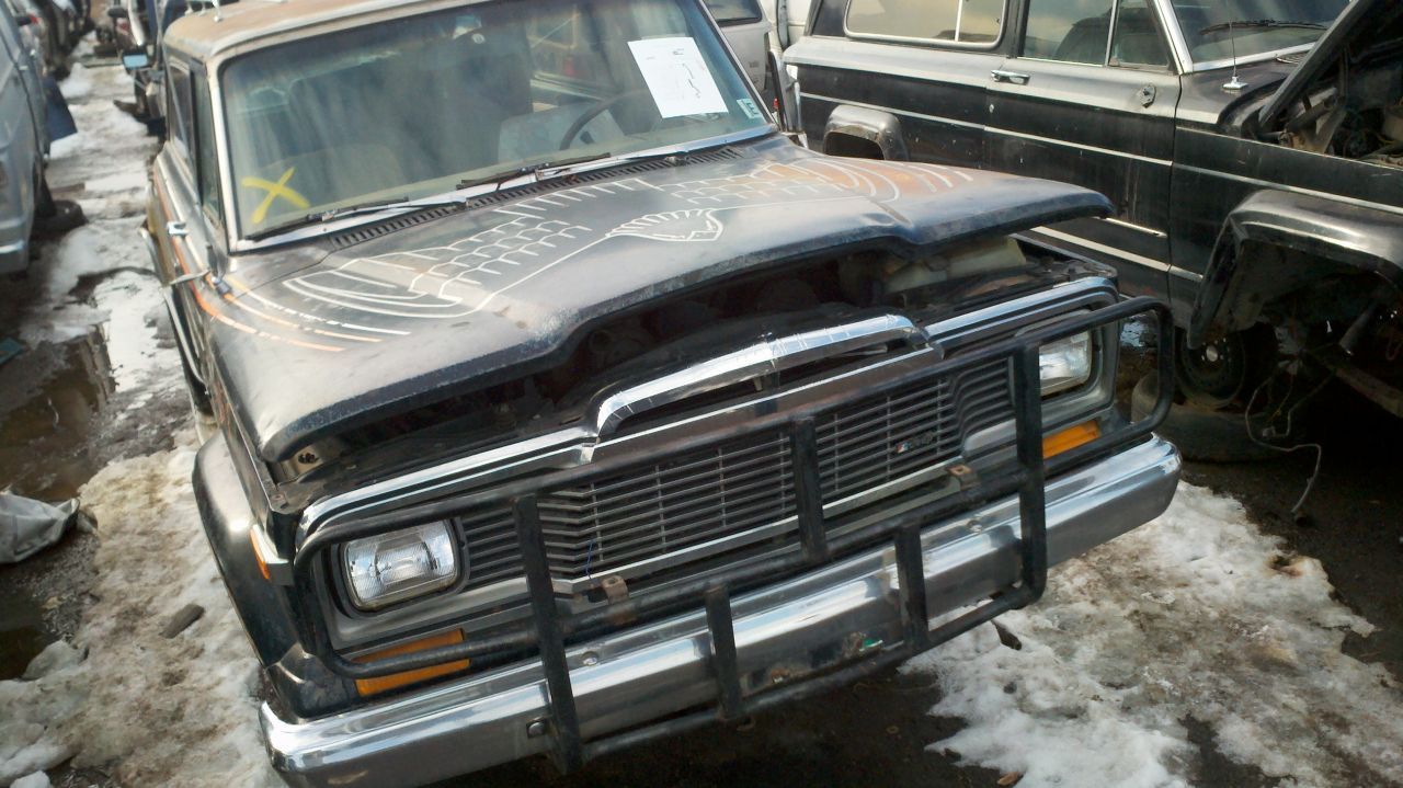 Used Cars Kenosha >> Junkyard Find: 1979 Jeep Cherokee Golden Eagle - The Truth About Cars