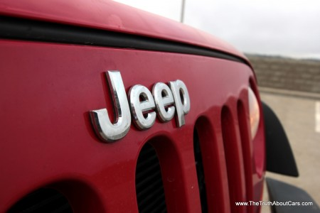 2012 Jeep Wrangler Rubicon, Exterior, Jeep logo, Picture courtesy of Alex L Dykes