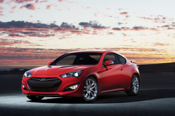 2013 Hyundai Genesis Coupe. Photo courtesy Hyundai