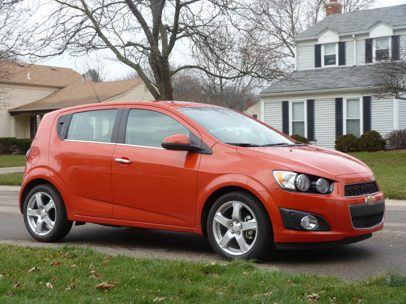 review 2012 chevrolet sonic ltz turbo take two the truth about cars. Black Bedroom Furniture Sets. Home Design Ideas