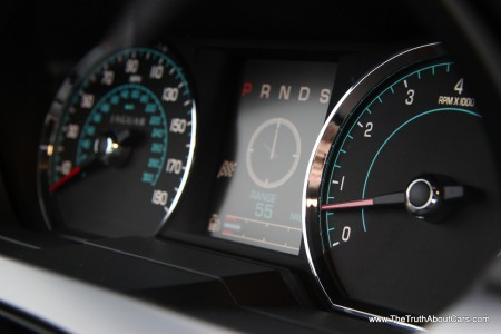 2012 Jaguar XKR-S, Interior, gauges, Photography Courtesy of Alex L. Dykes
