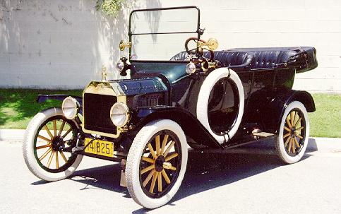 what does the ford model t do