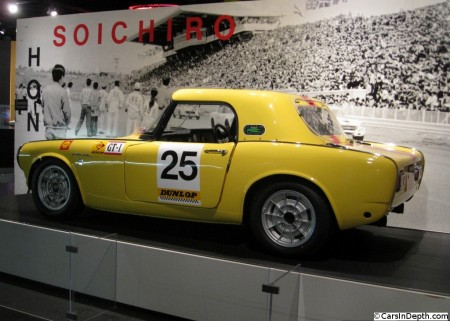Honda S800 RSC – Automotive Hall of Fame, Dearborn, MI – photo courtesy of Cars In Depth