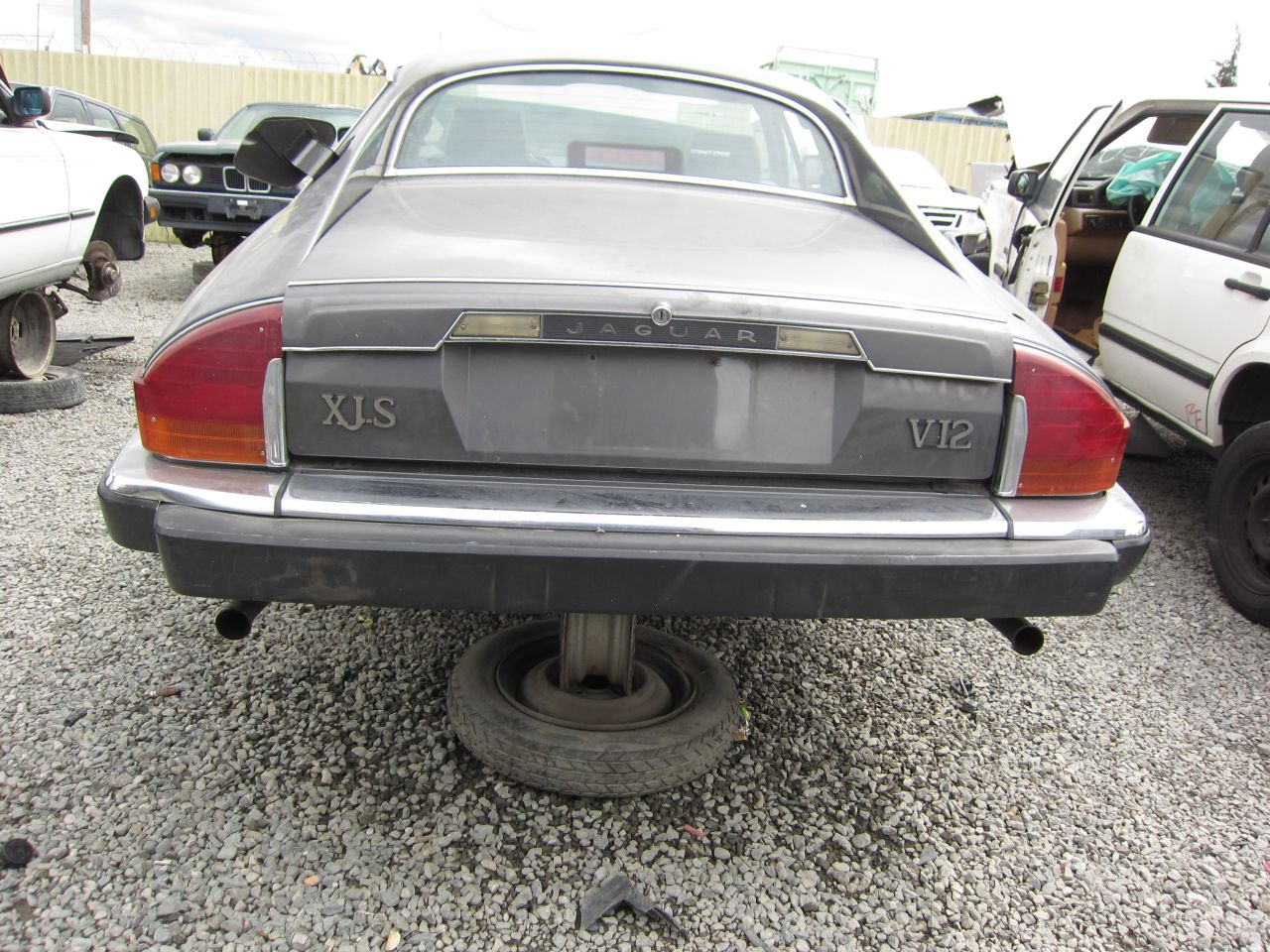 Junkyard Find 1987 Jaguar Xj S The Truth About Cars 2005 Xj8 Specs Hell Even Buying One Worth Of New 87 Chevettes Ie Seven Youd Have Held On To More Your Investment Today Scrap Value A
