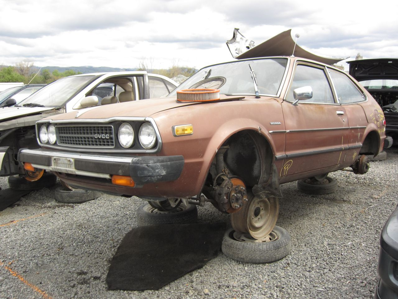 Junkyard Find 1979 Honda Accord Lx The Truth About Cars 89 Lxi Belt Diagram 1989 4 Door You Still See Occasional First Gen Buzzing Along But Its Not Worth Fixing One When Head Gasket Finally Goes Or Upholstery Just Gets