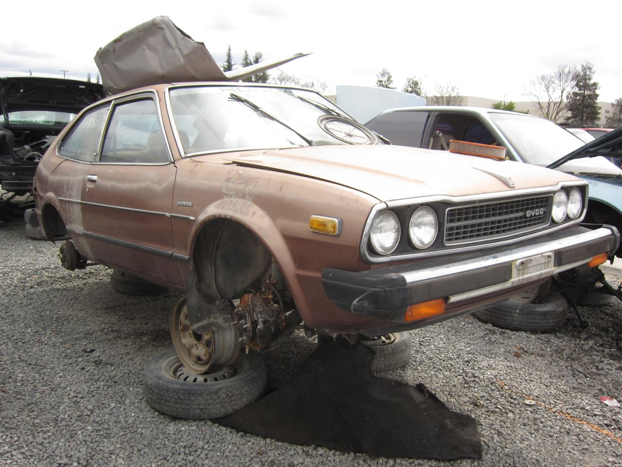Junkyard Find 1979 Honda Accord Lx The Truth About Cars 2000 Evap System Diagram Car Tuning You Still See Occasional First Gen Buzzing Along But Its Not Worth Fixing One When Head Gasket Finally Goes Or Upholstery Just Gets