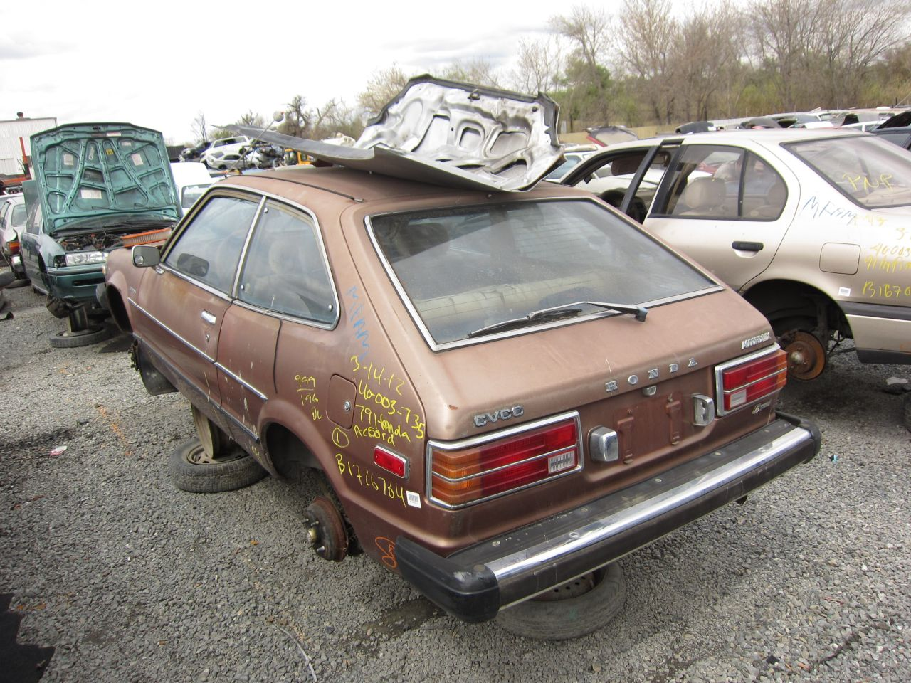 Junkyard Find 1979 Honda Accord Lx The Truth About Cars