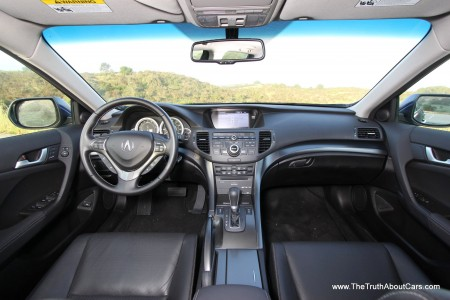 2012 Acura TSX Sport Wagon, Interior, Photography Courtesy of Alex L. Dykes