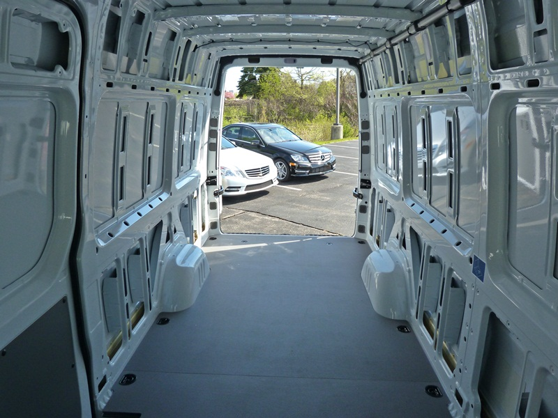 Sprinter cargo area, photo courtesy Michael Karesh - The Truth About ...