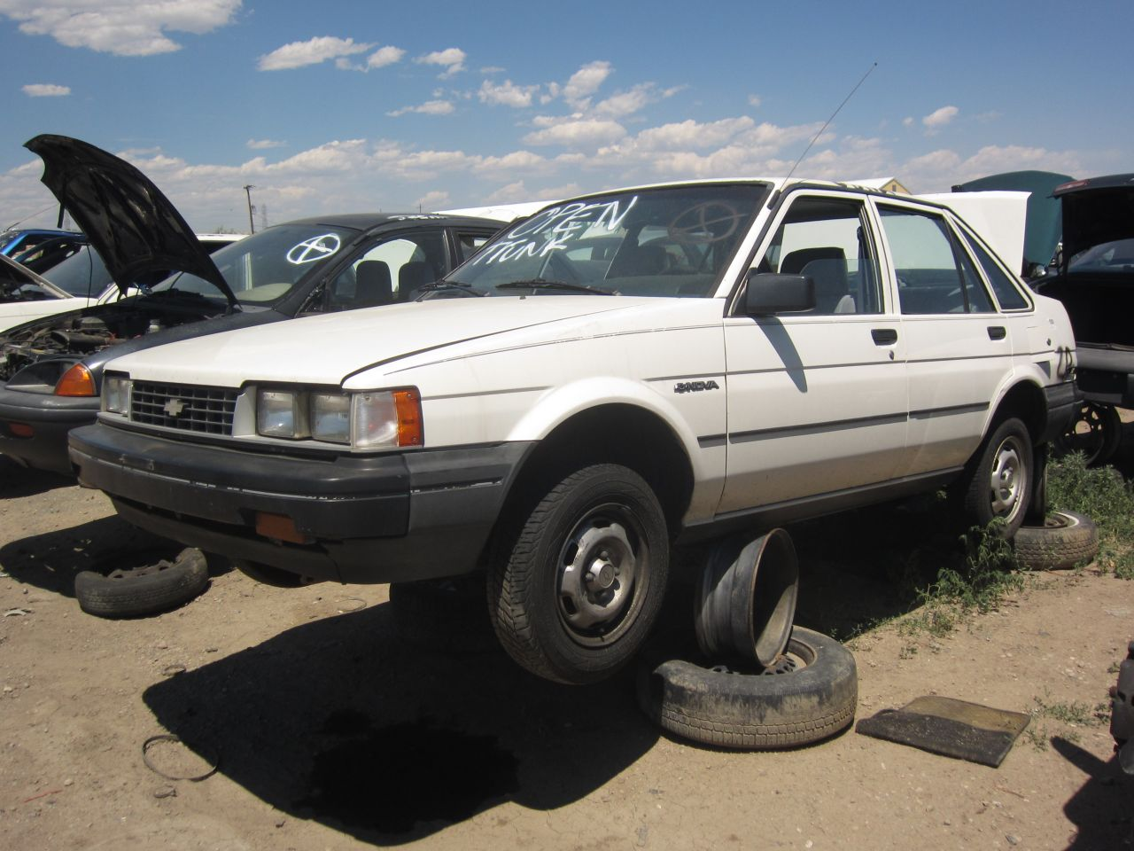 ford hatchback 1989 with Junkyard Find 1987 Chevrolet Nova Sedan on 1989 Ford F250 4x4 Extended Cab moreover Ford Thunderbird Sports Roadster Concept as well Junkyard Find 1987 Chevrolet Nova Sedan likewise Rover 75 2 0 V6 Club further Watch.