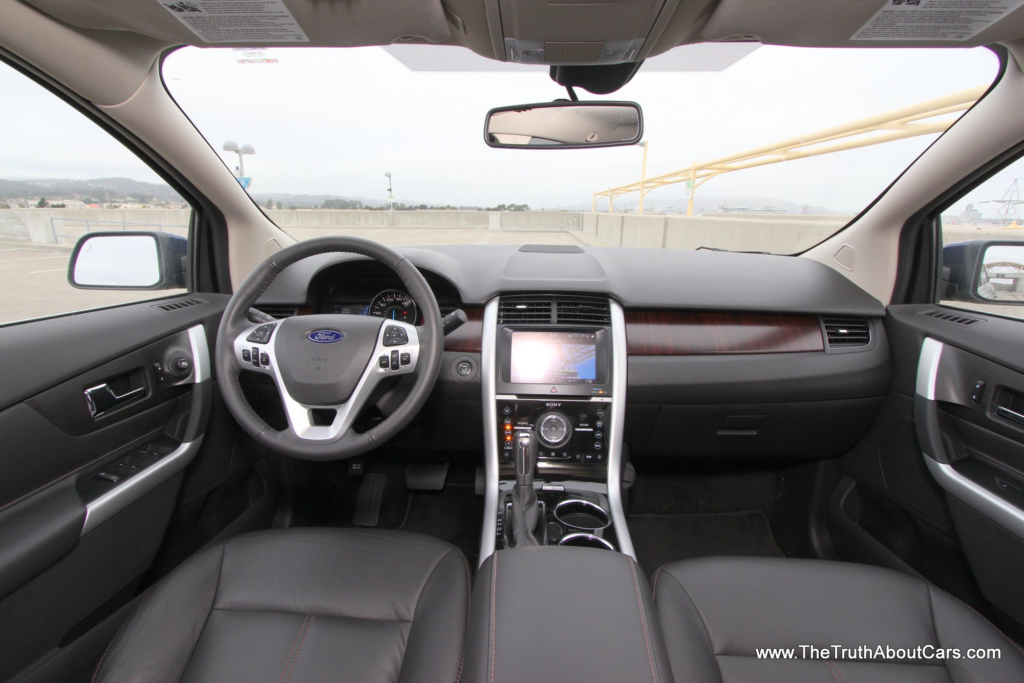 2012 Ford Edge Limited Ecoboost Interior Ford My Touch