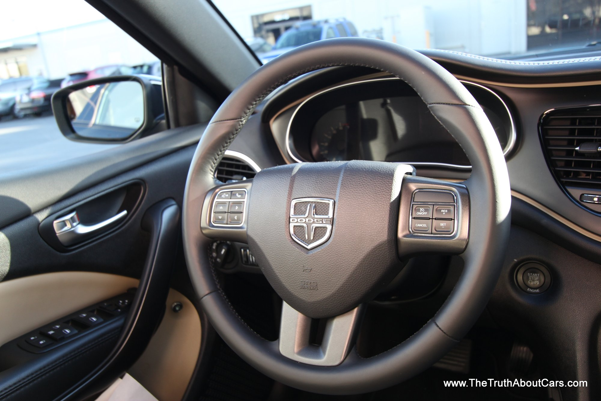 2013 Dodge Dart Limited Interior Steering Wheel Photography Courtesy Of Alex L Dykes The