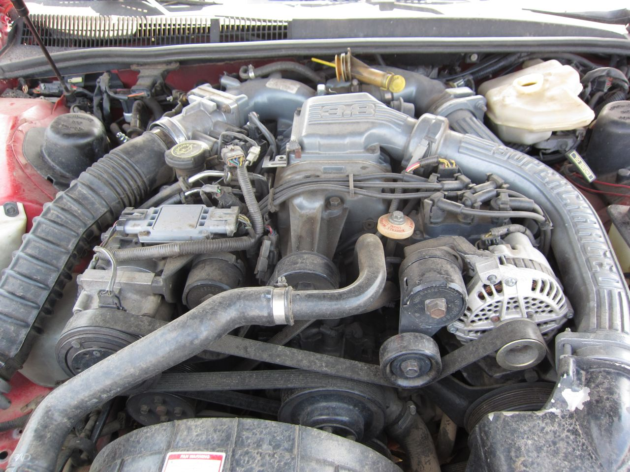 Junkyard Find 1990 Ford Thunderbird Super Coupe The Truth About Cars Wiring Diagram 2004 Vw Passat Turbo Intercooler 1997 Toyota