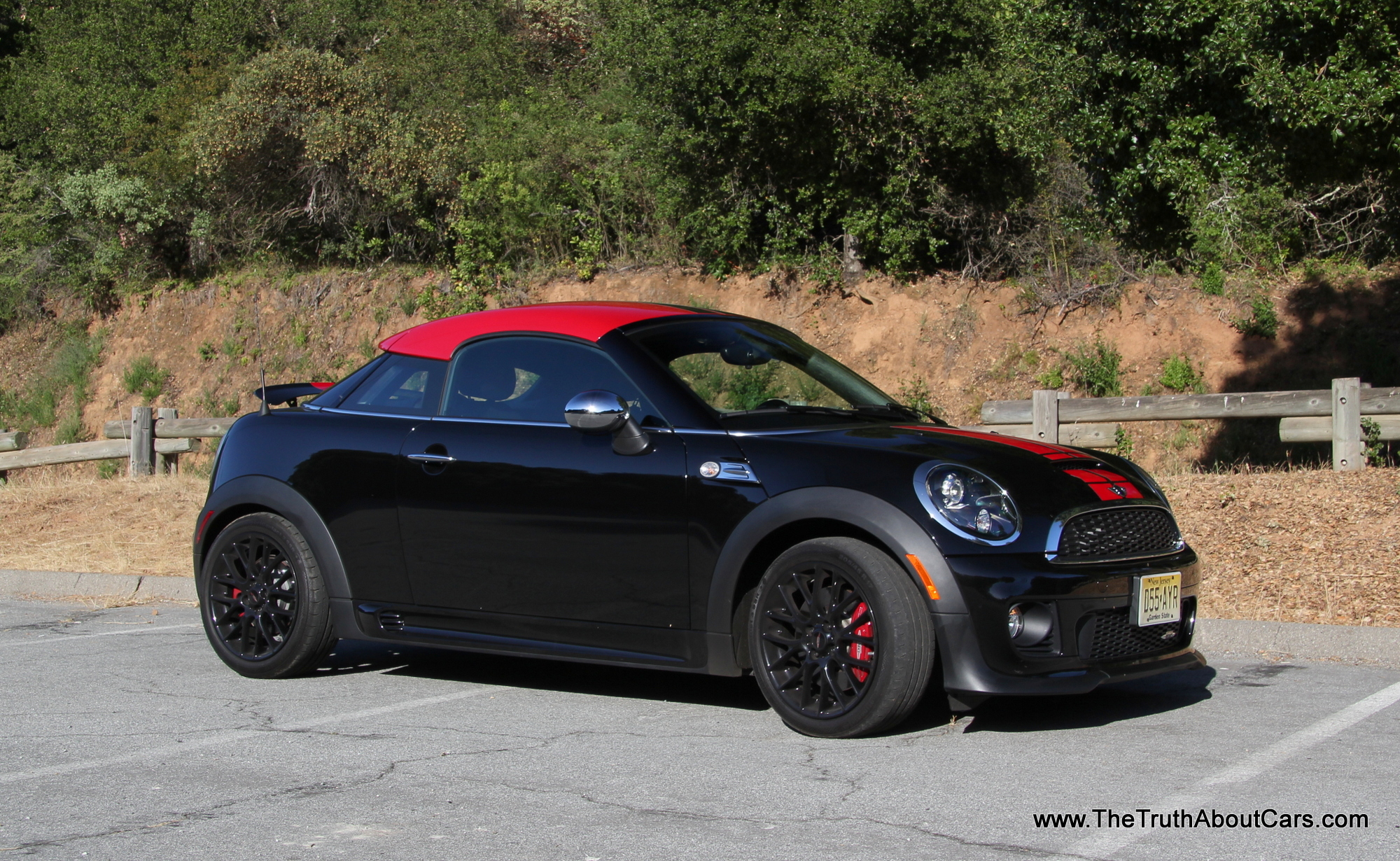 review 2012 and 2013 mini john cooper works jcw coupe the truth about cars. Black Bedroom Furniture Sets. Home Design Ideas