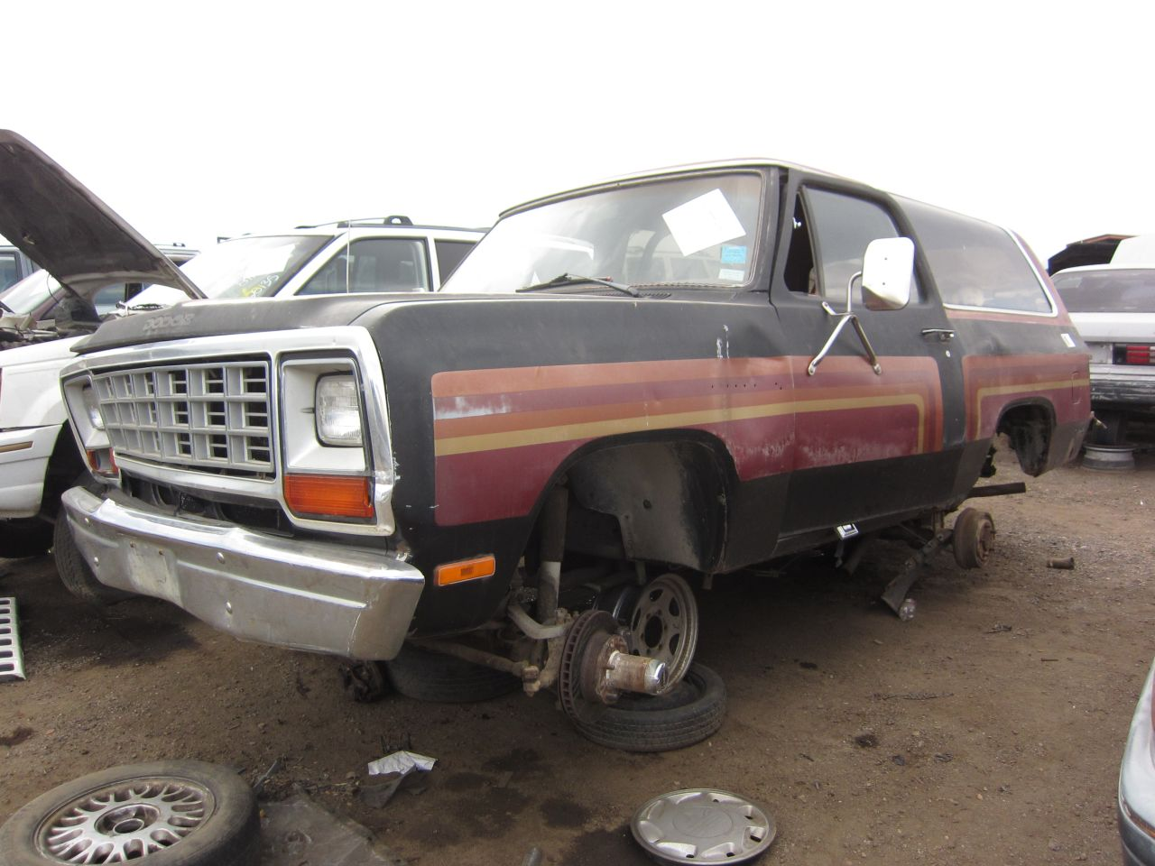 Junkyard Find 1983 Dodge Ramcharger Royal Se The Truth About Cars