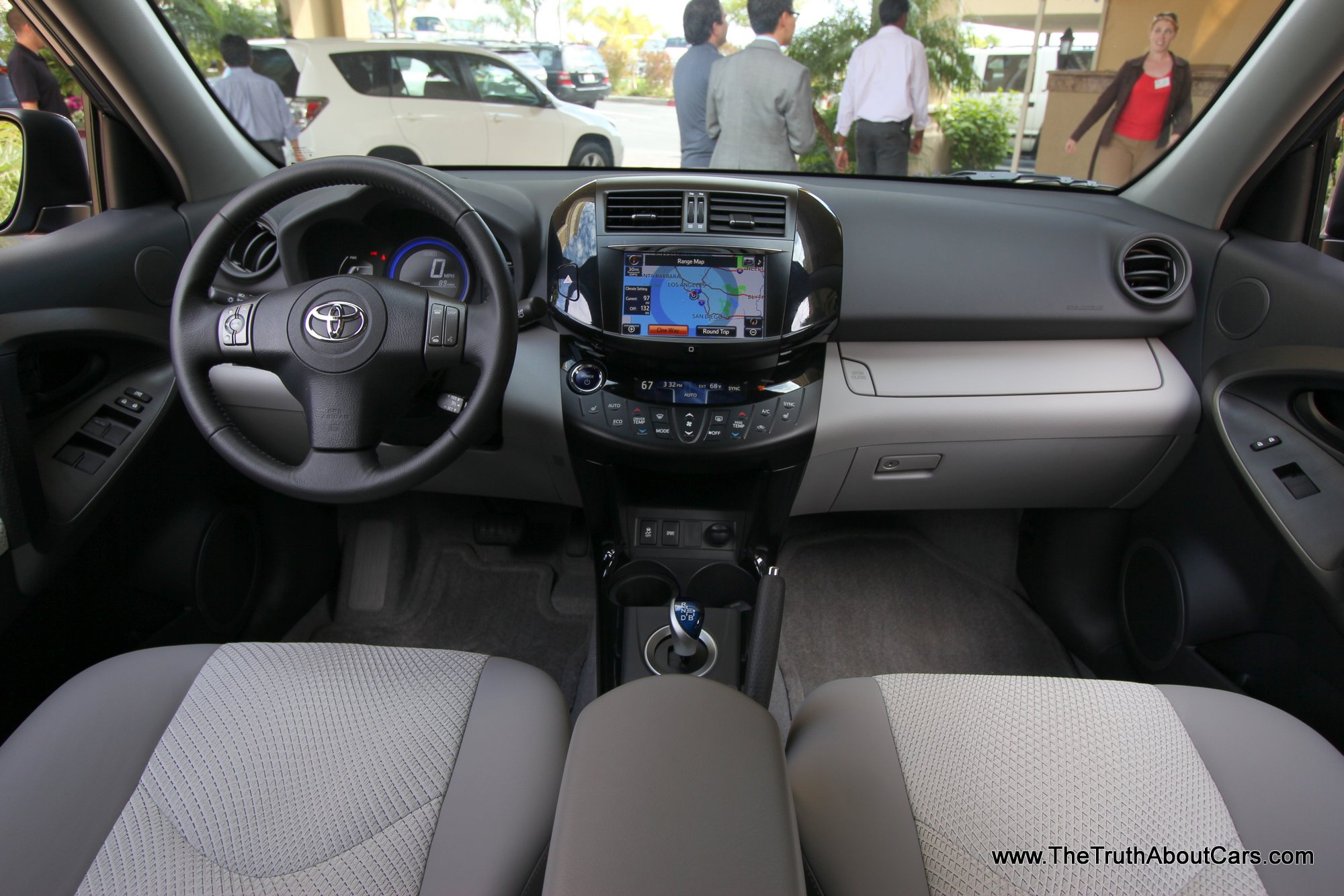 2013 Toyota RAV4 EV, Interior, Dash, Photography Courtesy Of Alex L. Dykes