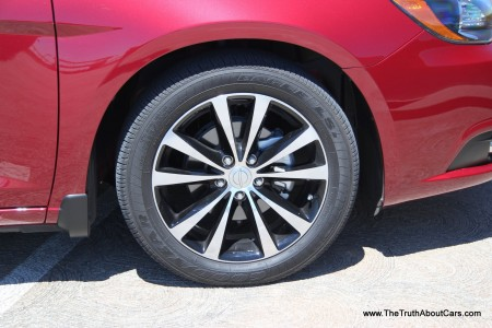 2012 Chrysler 200S Convertible, Exterior, wheel, Picture Courtesy of Alex L. Dykes
