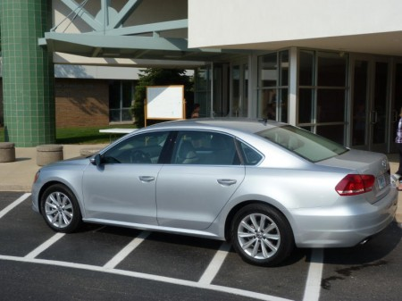 Passat V6 rear quarter, picture courtesy Michael Karesh