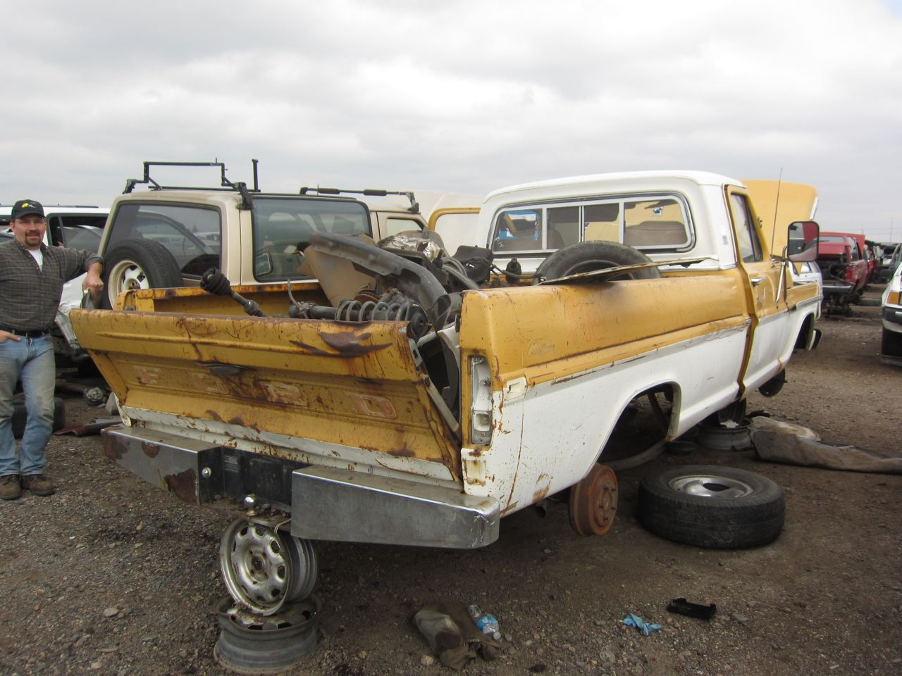 Junkyard Find: 1971 Ford F-100 Pickup - The Truth About Cars