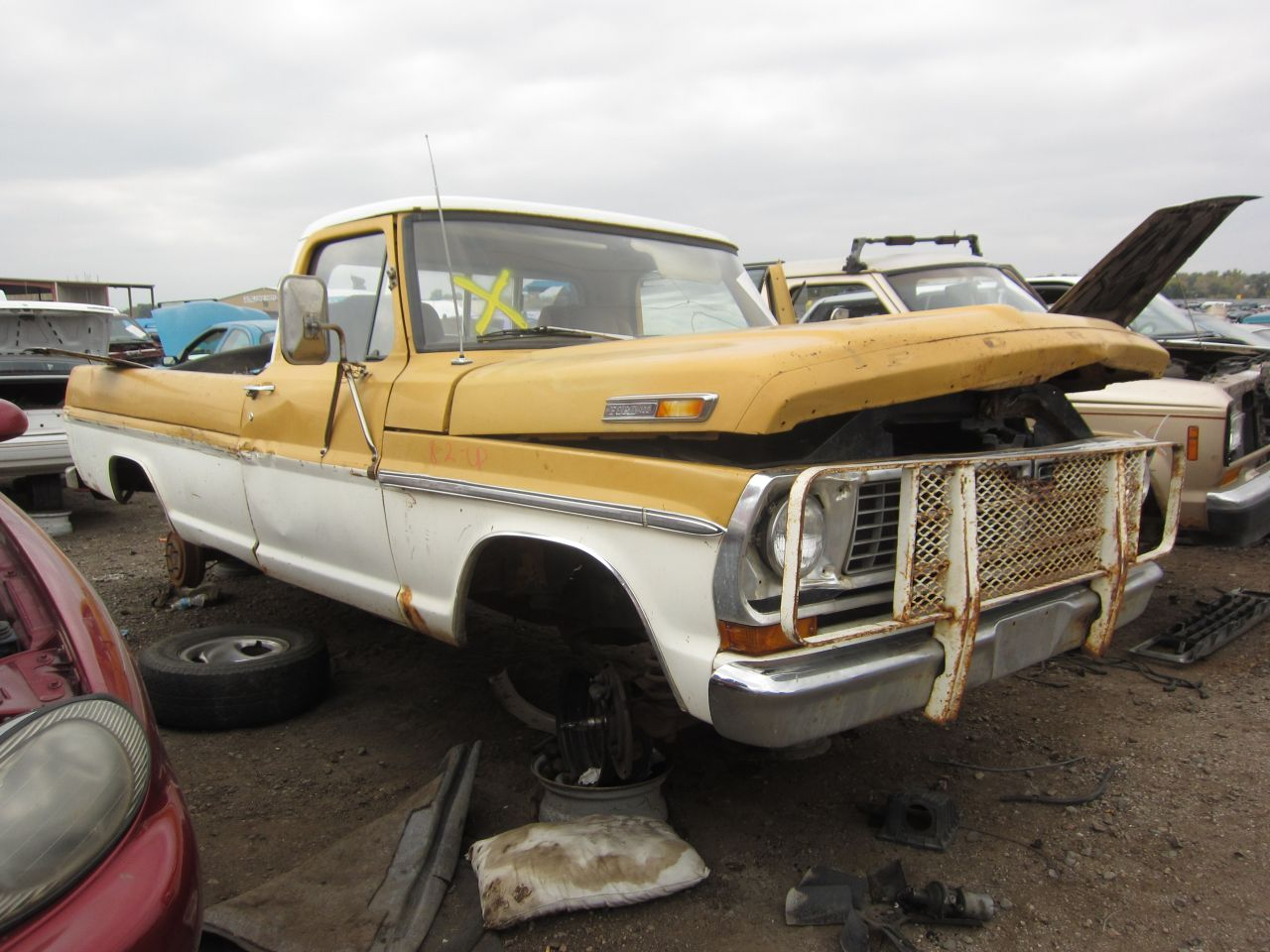 Junkyard Find 1971 Ford F 100 Pickup The Truth About Cars 1970 F100 Ranger Xlt